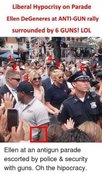 Political graphics, etc-liberal-hypocrisy-parade-ellen-degeneres-anti-gun-rally-surrounded-31194724-jpg