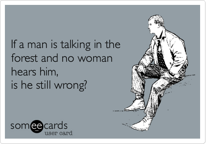 Funny Pictures, Sayings and Cartoons-talking-forest-woman-hears-wrong-png