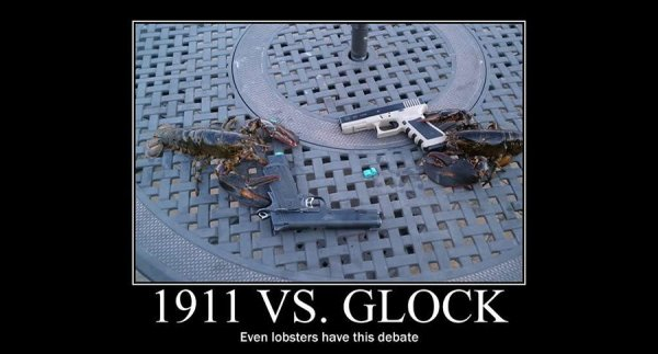 Bought My Dream Handgun-gun-meme-lobsters-jpg