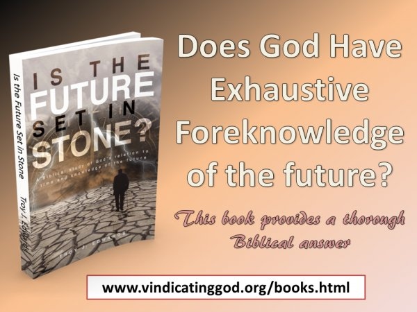 Is the Future Set in Stone?: A Biblical study of God's relation to time and knowledge of the future-god_future-ad1-jpg