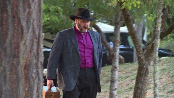 Oregon priest performs exorcisms: 'Cases are getting darker'-archbishop-james-cloud-toolbox-cigar-jpg